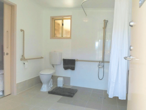 Fordsdale Accessible Bathroom and Toilet