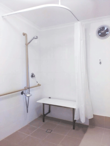 Fordsdale Accessible Bathroom and Shower